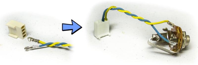 Active DI DIY Kit Output to Molex
