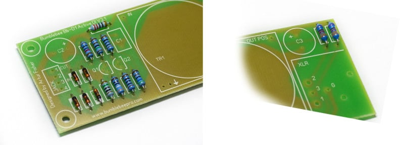 Active DI DIY Kit PCB Resistors