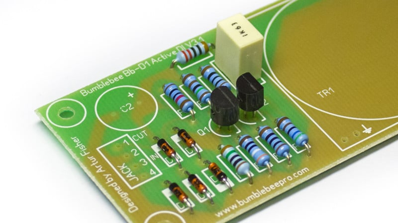 Active DI DIY Kit PCB Film Capacitor