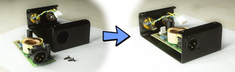 Active DI DIY Kit PCB Mounting