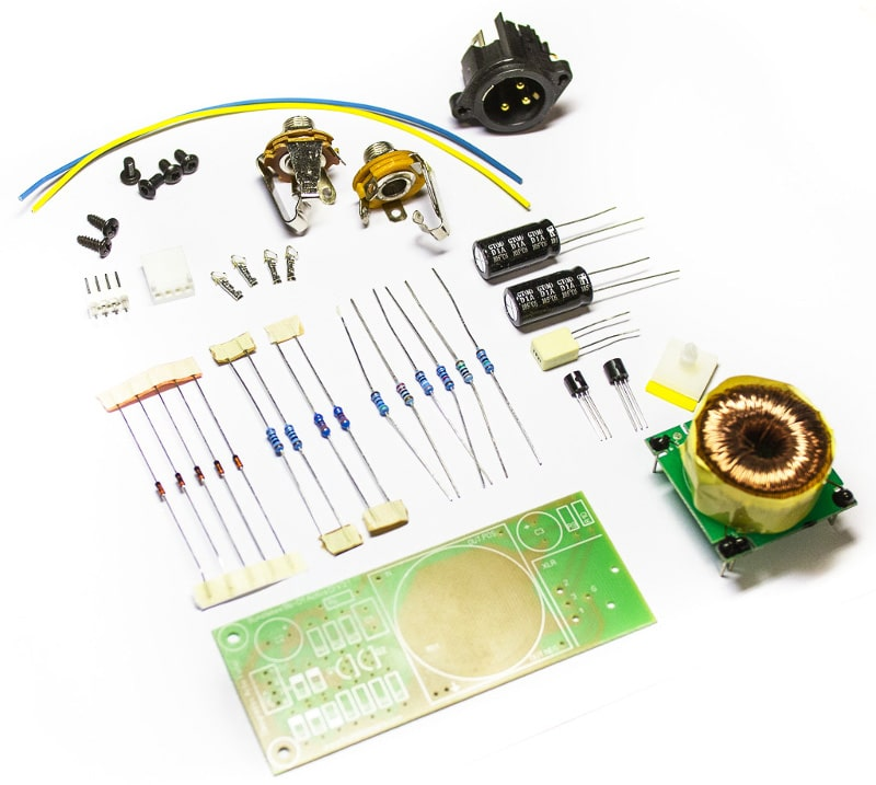 Bumblebee Active DI Kit Transformer Components