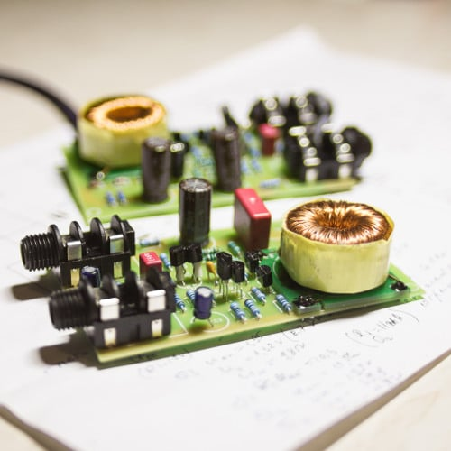 Discrete Op-Amp DI Jfet Direct Box with Output Transformer