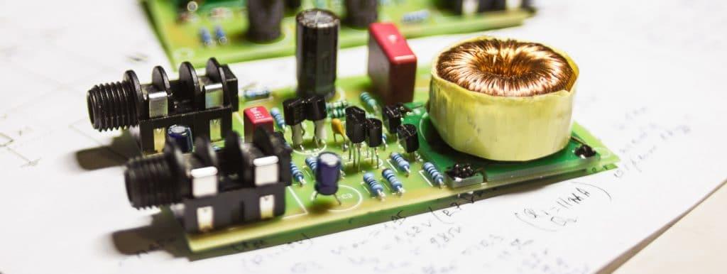 Discrete Op-Amp DI Jfet Direct Box with Output Transformer