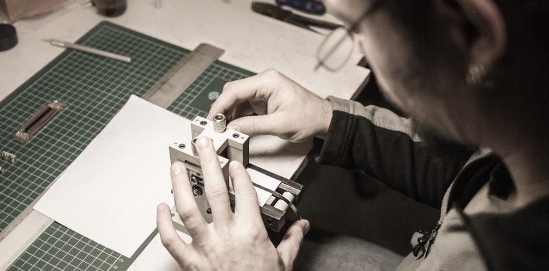 Foil Corrugation for DIY Ribbon Microphone