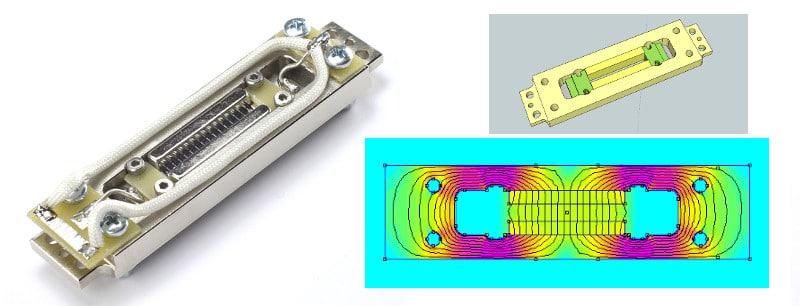 RE-323 DIY Ribbon Mic Kit Motor Magnetic Model