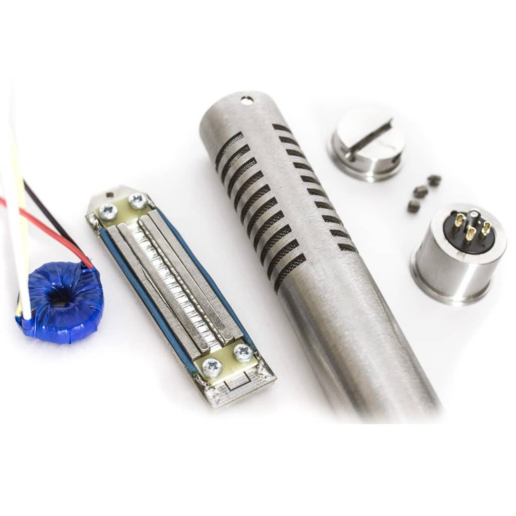 Rm 5 Diy Ribbon Mic Kit With Assembled Motor Bumblebee Pro Condenser Microphone Diagram