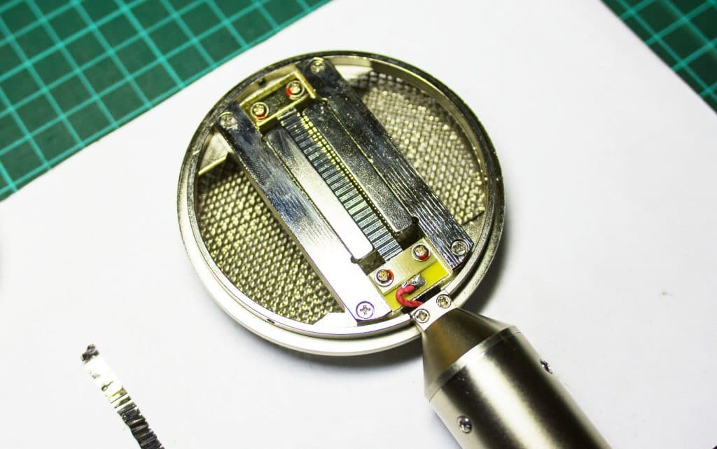 Ribbon Microphone Foil Replacement