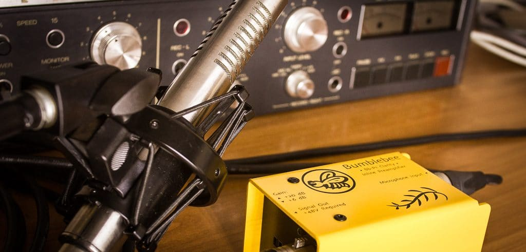 Bumblebee Pro Bb-P1 Inline Preamp for Ribbon Mics