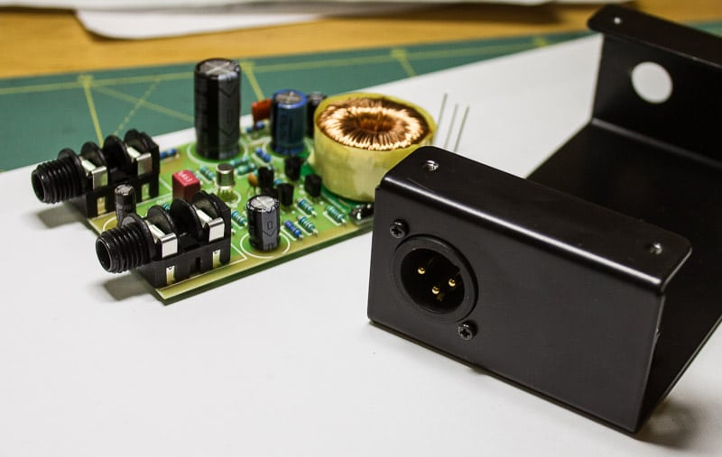 Bb-D2 Discrete Op-Amp DI DIY Kit Manual – Bumblebee Pro