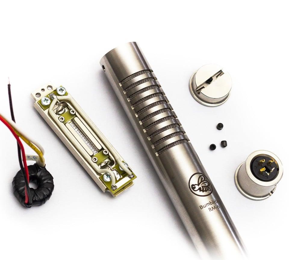 RM-6 Ribbon Mic DIY Kit with Toroidal Transformer