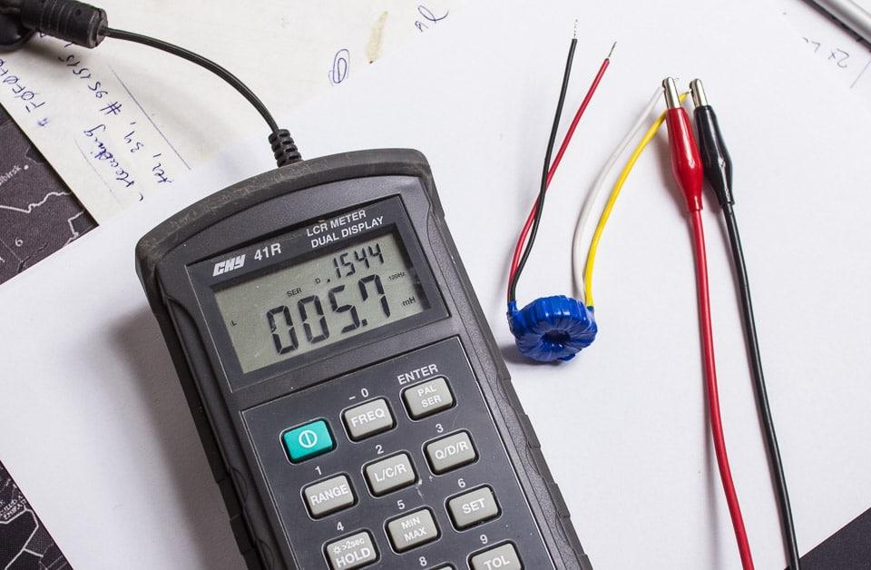 Ribbon Mic Transformer RTP-28 Inductance Measurement