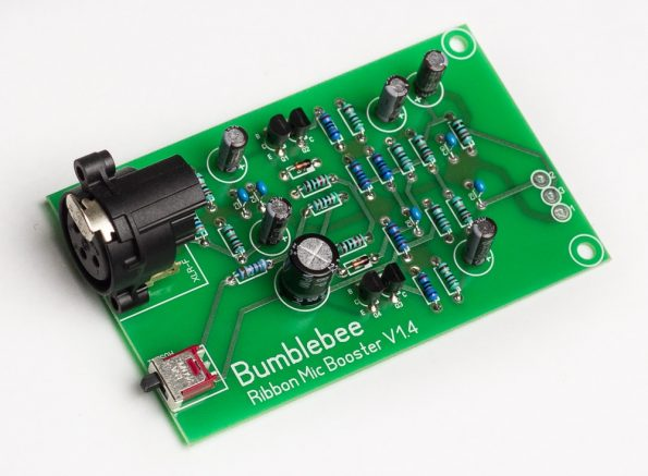 Bb-P26 Ribbon Mic Booster DIY Kit PCB