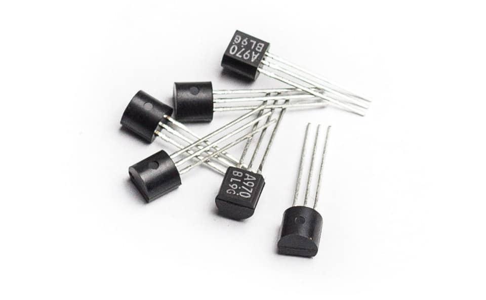 2SA970BL low-noise transistors Bb-P26 DIY Kit mic booster cloudlifter