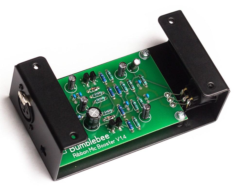 Bb-P26 Ribbon Mic Booster DIY Cloudlifter Kit PCB