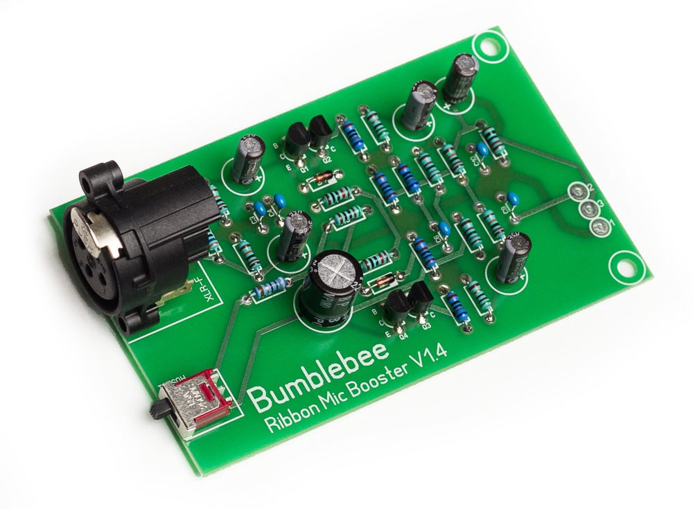 Bb-P26 Ribbon Mic Booster DIY Cloudlifter Kit PCB