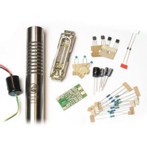 Bumblebee Pro RM-7 Active DIY Ribbon Mic Kit - All The Parts