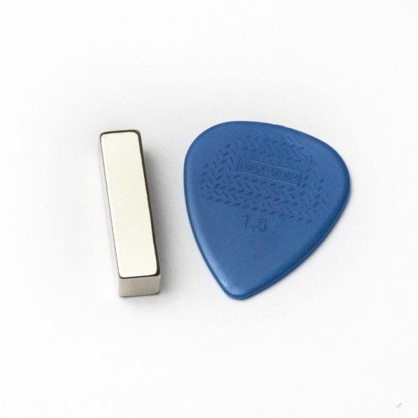 """Neodymium Magnet for DIY Ribbon Mic, 1"""" x 1/4"""" x 1/4"""""""