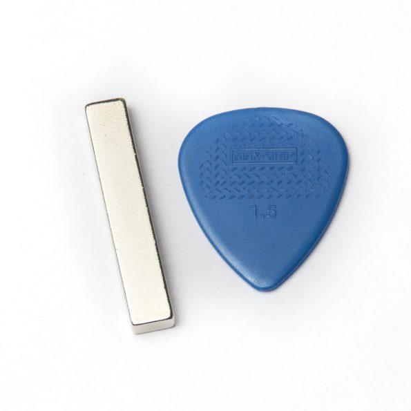 """Neodymium Magnet for DIY Ribbon Mic, 1 1/2"""" x 1/4"""" x 1/8"""""""