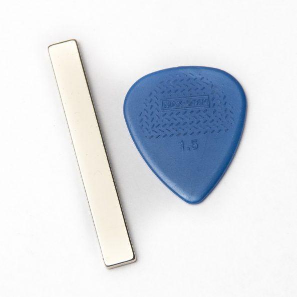 """Neodymium Magnet for DIY Ribbon Mic, 2"""" x 1/4"""" x 1/16"""""""